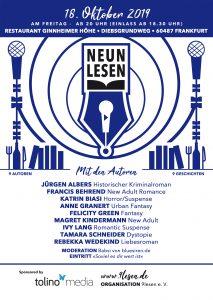 9lesen-Plakat für Frankfurt 2019