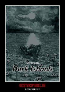 """Cover der Anthologie """"Dark Islands"""""""