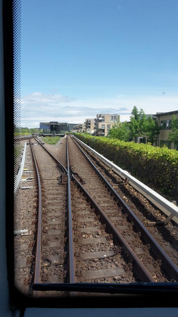 Foto aus der Kopenhagener Metro